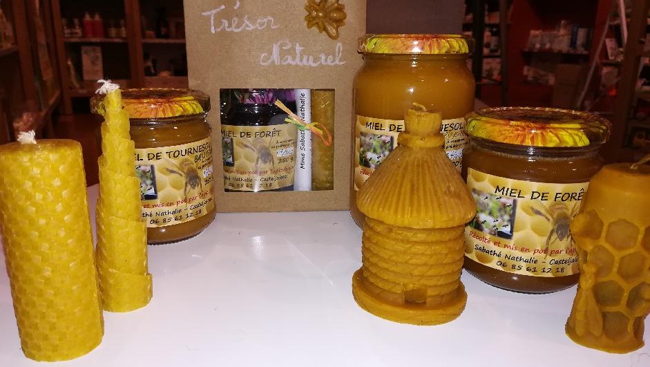 Produits de la ruche, Nathalie Sabathé (Casteljaloux)