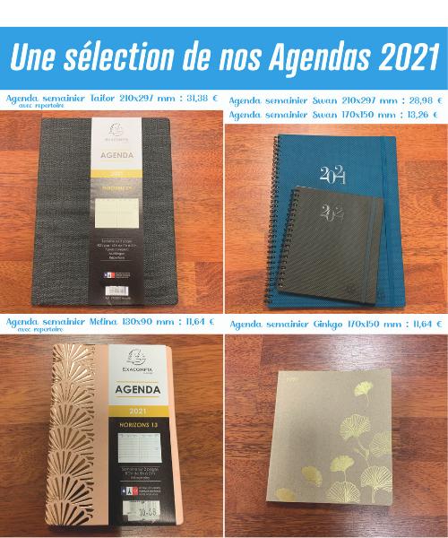 Vos agendas 2021