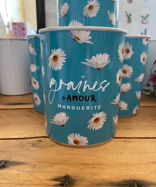 11- Graines d'Amour - Marguerite (boîte Bleue)